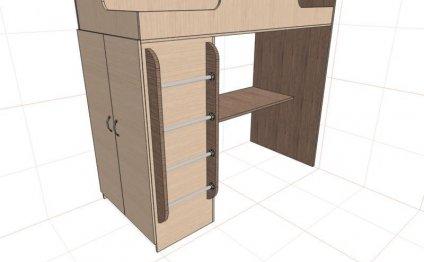 Проектирование мебели в pro100